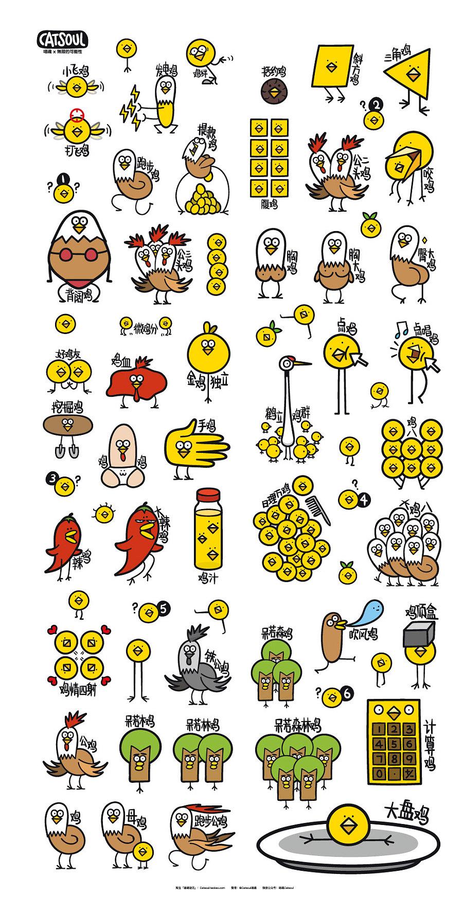 查看《喵魂的鸡年创意扑克》原图,原图尺寸:1000x1969