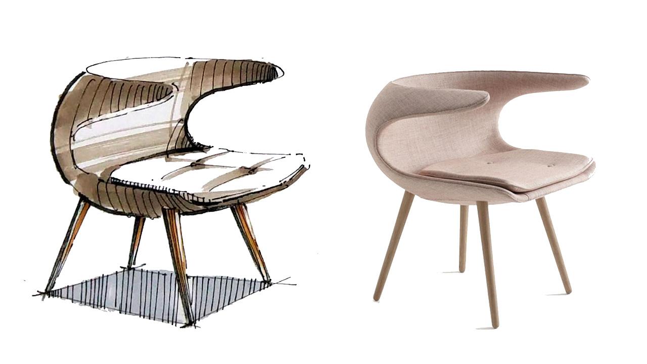 手绘家具快速表现(内附实景图参照)|工业/产品|家具