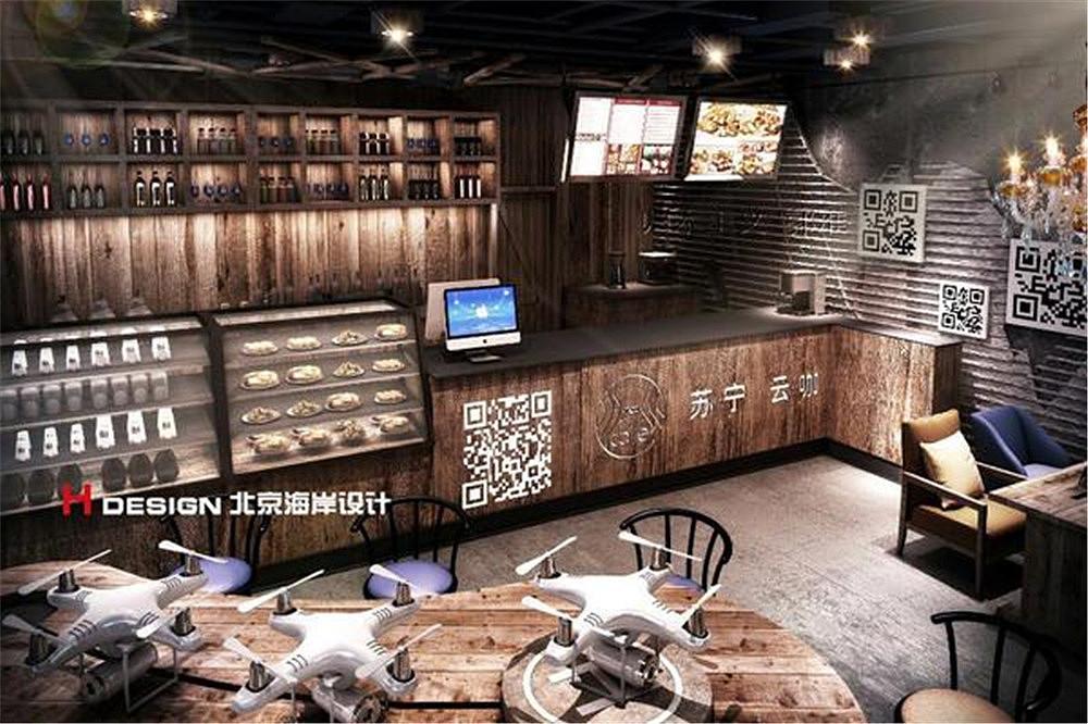 北京苏宁.云咖咖啡屋v龙船龙船案例花设计素材图片