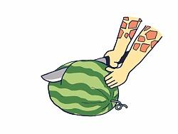 为什么长颈鹿买不到熟了的西瓜? 