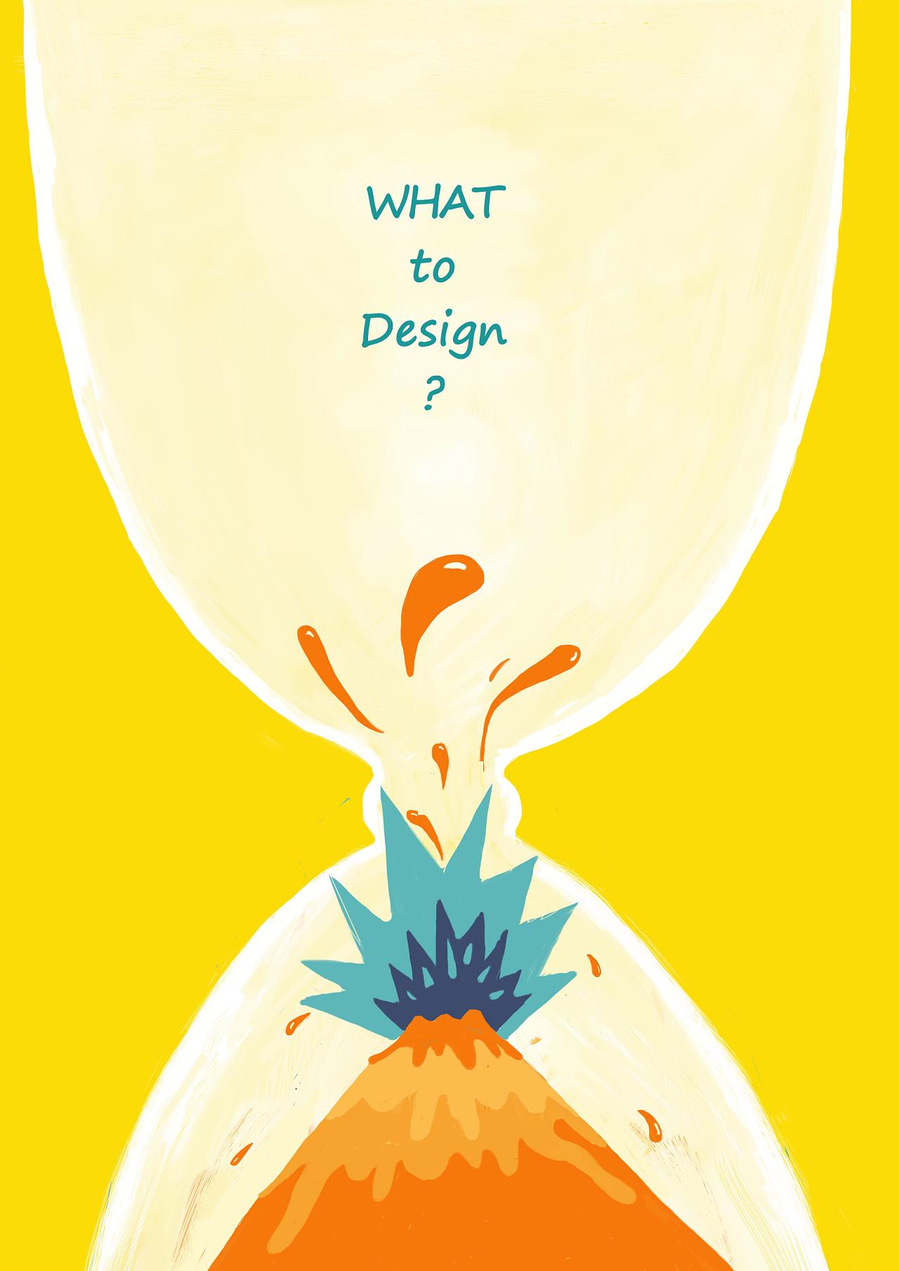 手绘海报|平面|海报|口识丹三 - 原创作品 - 站酷