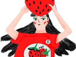 大过年的,吃颗草莓