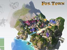 洛克猴课范 沙盘地形规划新图《FOX TOWN》高清步骤图