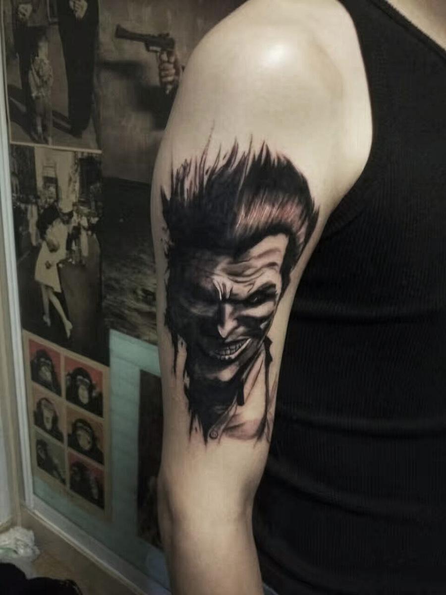 欧美写实纹身 个人纹身作品