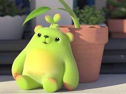【萌芽熊】向日葵的工作