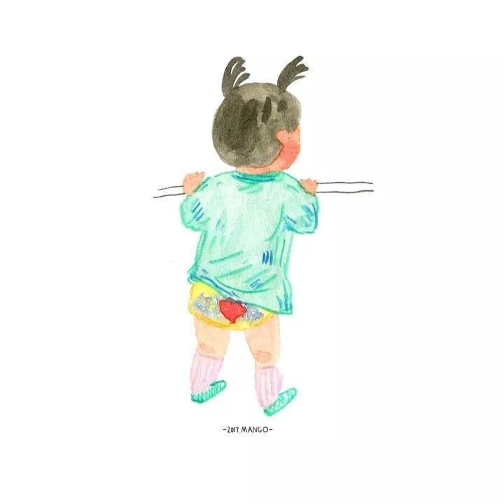 �m��O8_女儿|插画|插画习作|白蜷 - 原创作品 - 站酷 (zcool)