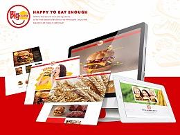 Bigburger   汉堡网页