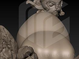 斑马CG工作室 设计及制作三档路飞