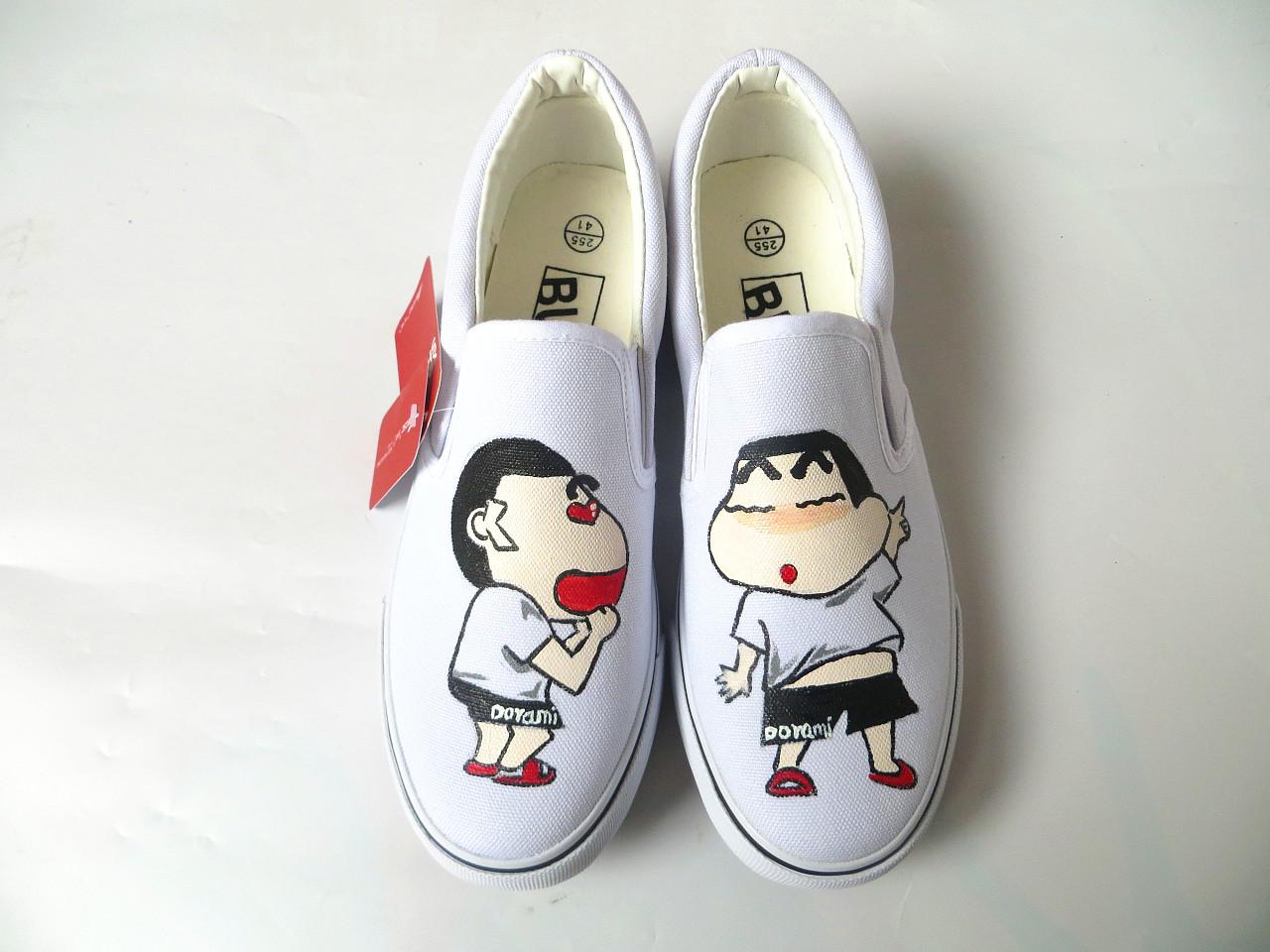 个性手绘鞋 来图可以定制
