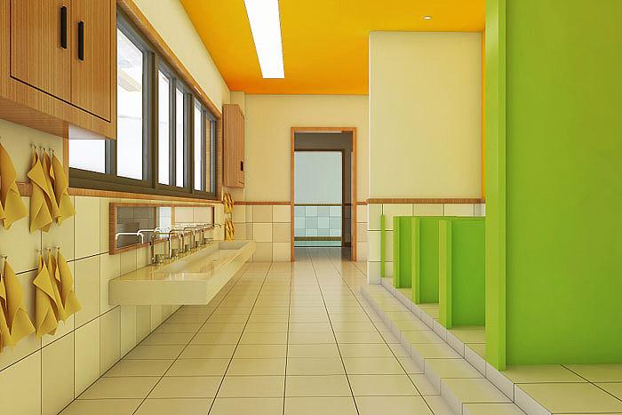 许昌幼儿园设计公司 幼儿园步梯设计尺寸多少为准