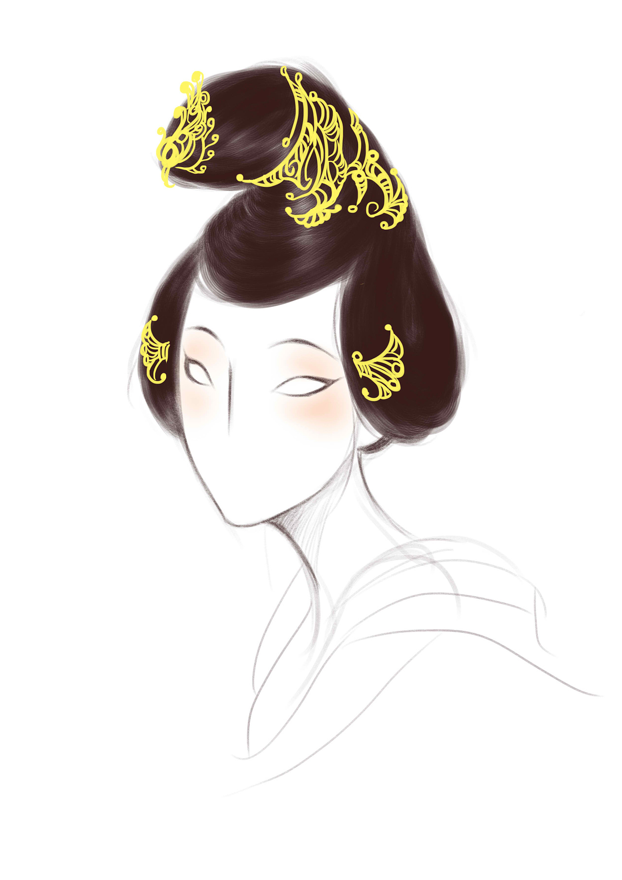 唐代女子发型