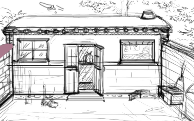 老房子|插画|商业插画|军哥第一 - 原创作品 - 站酷