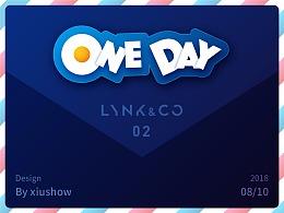 ONE DAY(领克02车机主题设计大赛)