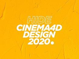 HIDE CINEMA 4D DESIGN 2020-PART 2
