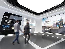 机械企业展厅
