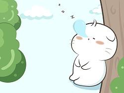 爱睡觉的小团子
