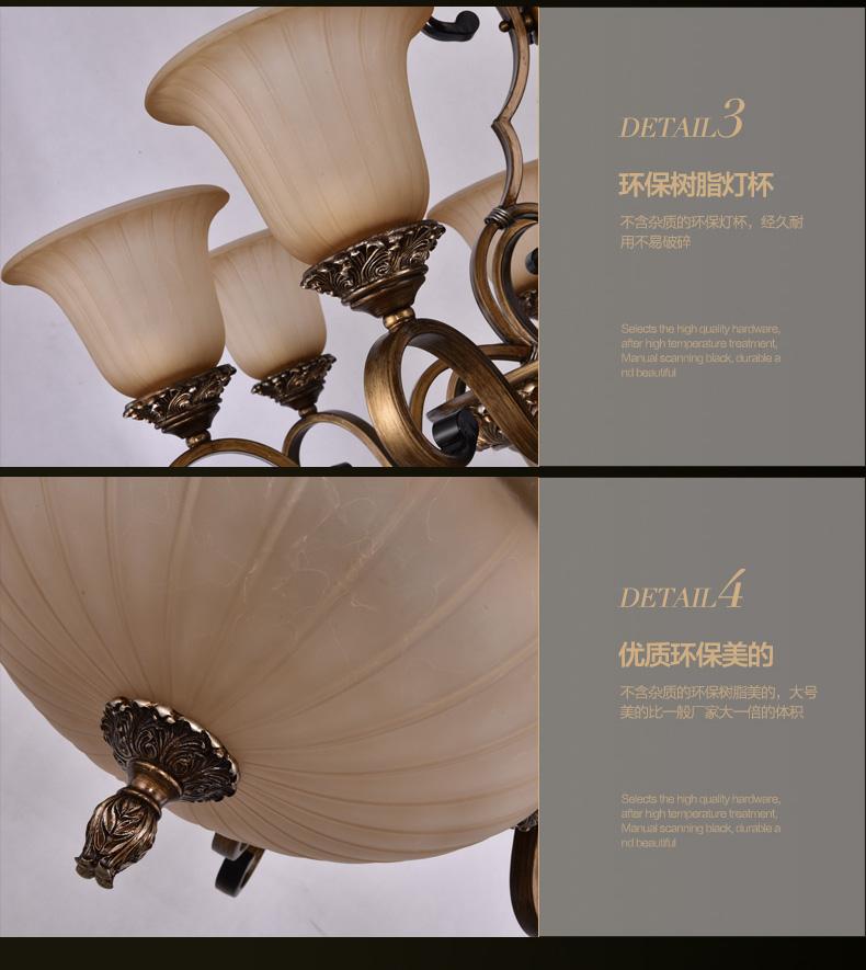欧式经典灯具详情|电子商务/商城|网页|1junjun