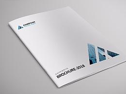 企业画册 公司画册 简约画册 极简画册 蓝色画册