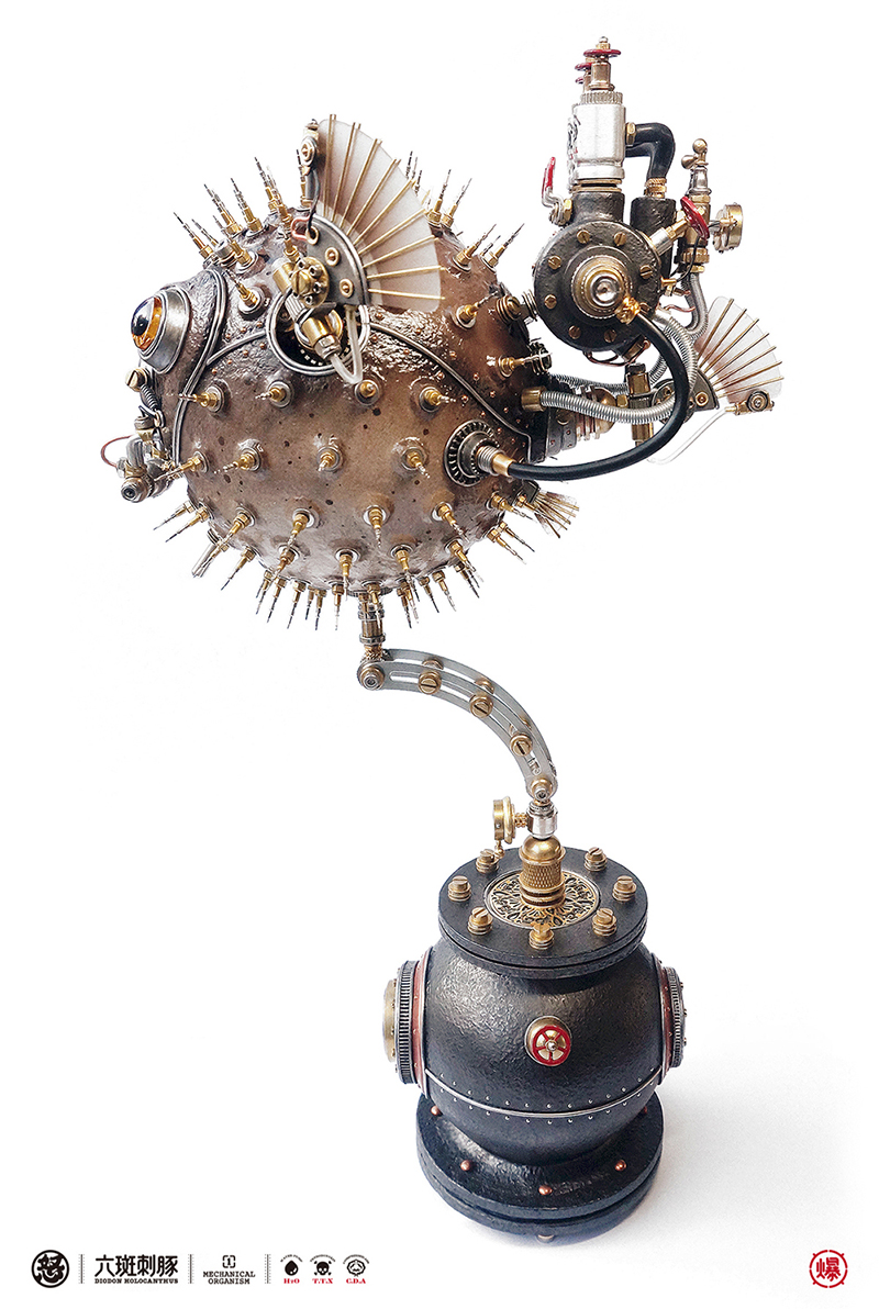 查看《愤怒的毒物 —— 机械小刺鲀!》原图,原图尺寸:800x1192