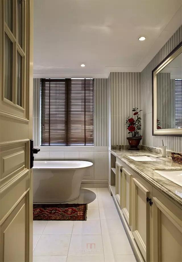 宾悦龙城165平美式风格四室两厅装修样板间欣赏---卫生间