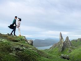 旅拍幕后:极致风光摄影之旅——苏格兰之风巨大的三天