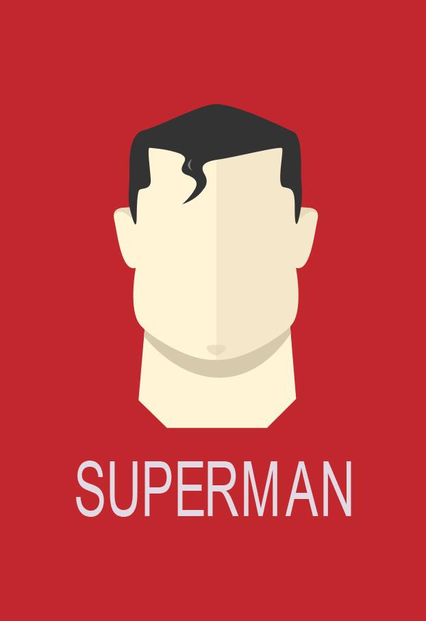 超人海报图片