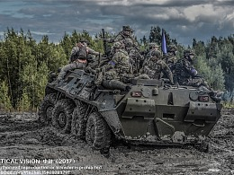 俄罗斯 钢甲昼夜 战术比赛纪实摄影 II
