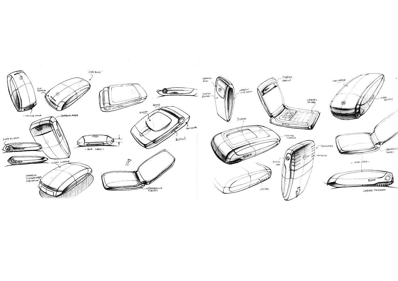 产品/汽车手绘 人物插画