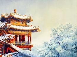 画中游(期待北京的雪景)