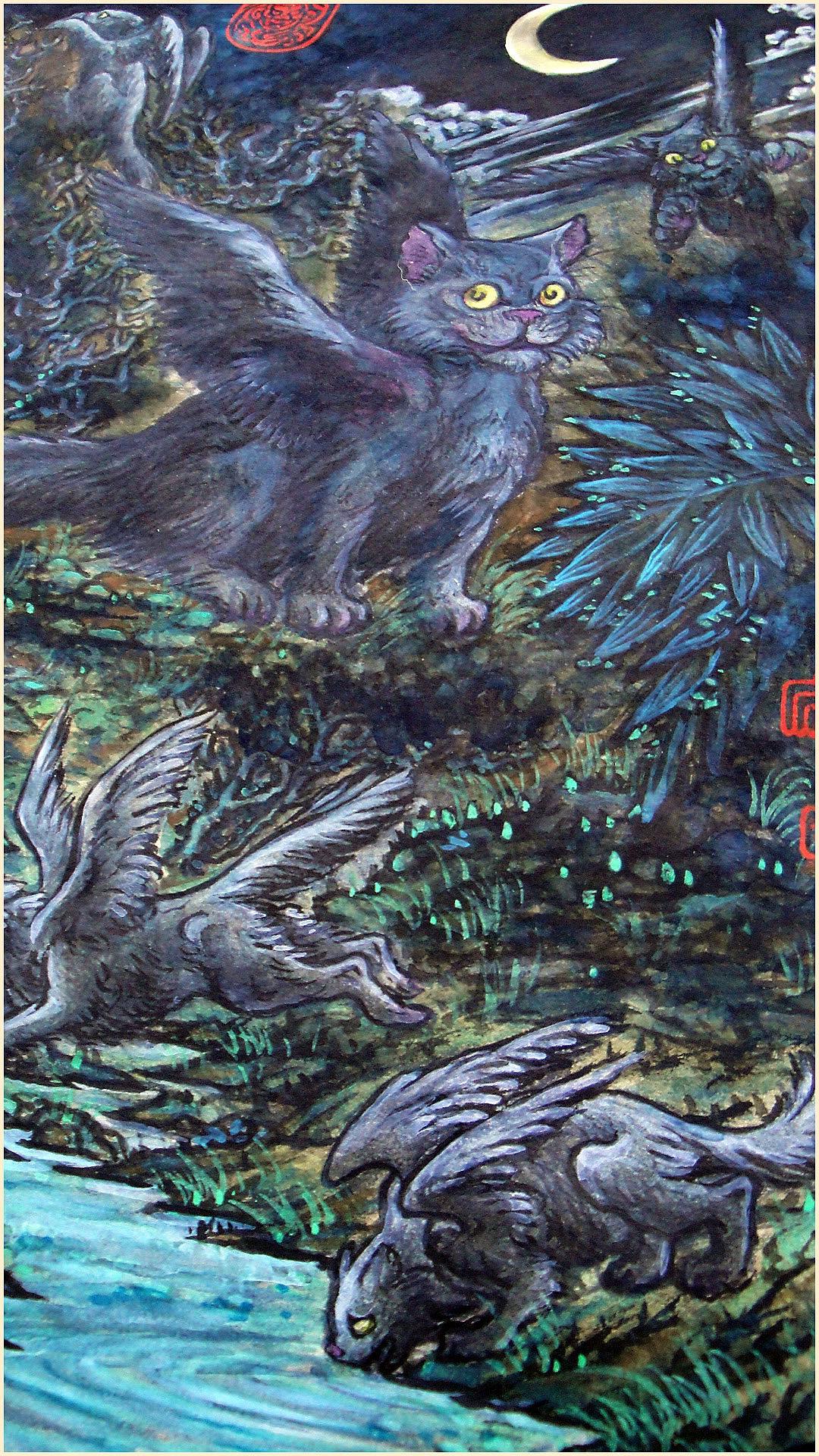 翼猫——长翅膀的喵天使