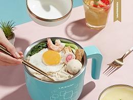 可爱的小电锅|利仁电器|foodography