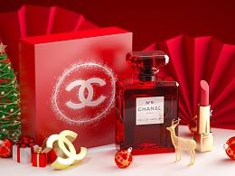 香奈儿五号之水圣诞红色限量款—octane
