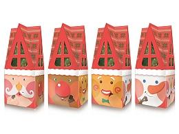 77聖誕節巧克力糖屋型盒