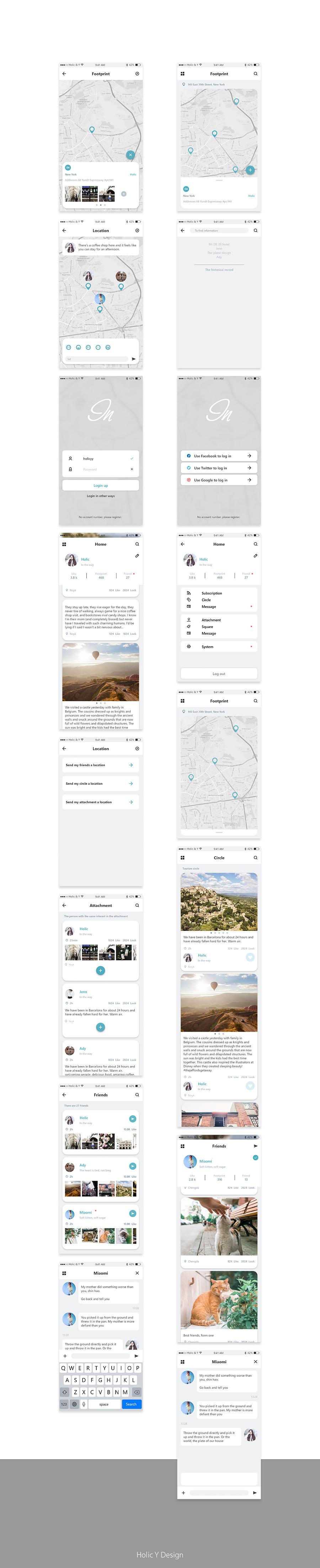 redesign:inmap|||zihoo - 原创设计作品 - 站酷图片