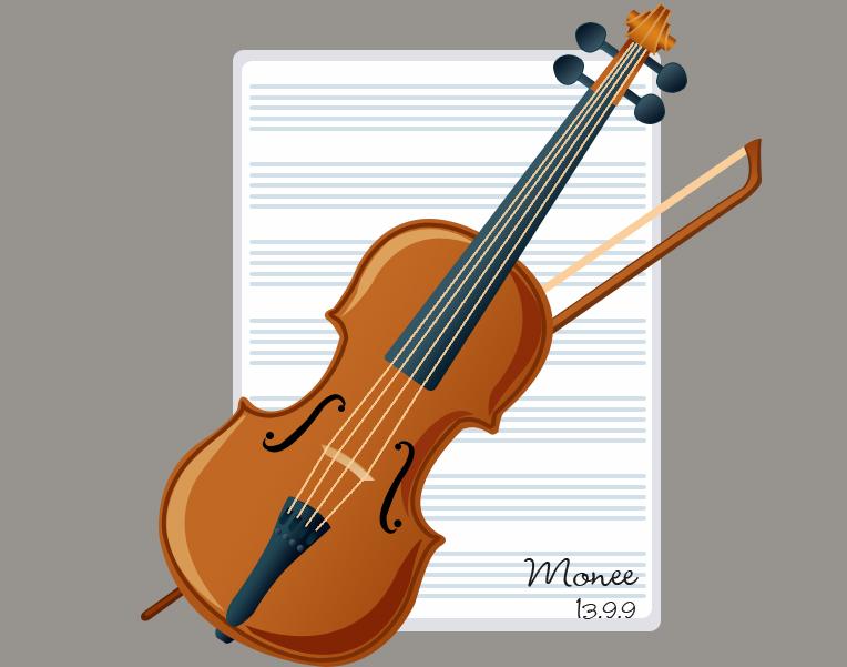幼师小提琴手工制作图片