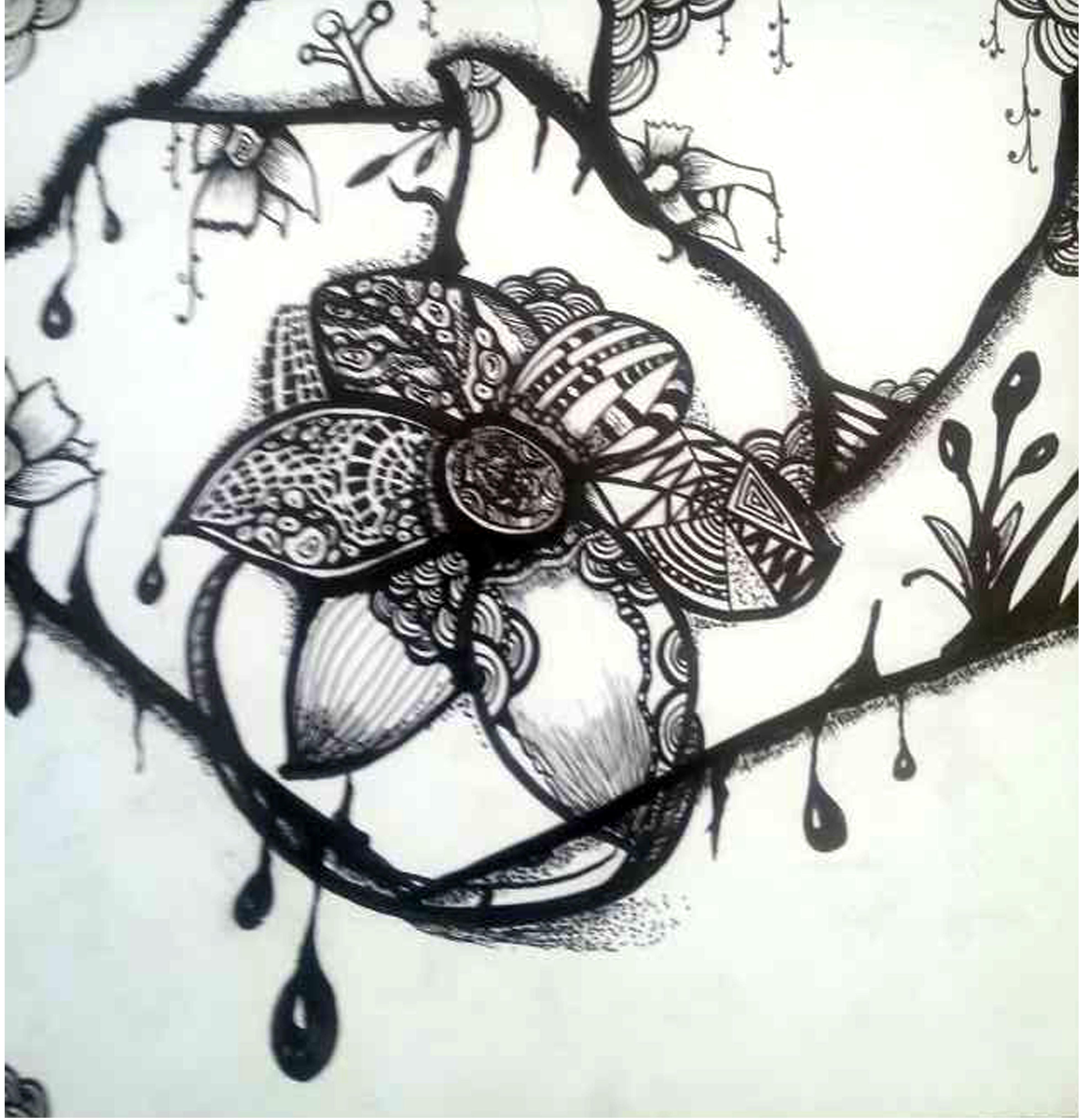 手绘装饰画