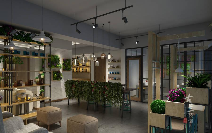 《首座美甲店设计》成都银泰城美甲店设计|养肉狗场地设计图图片