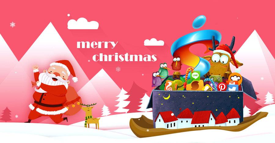 圣诞节手绘海报|海报|平面|小小艺术家5