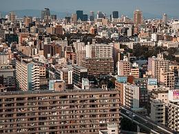 日本掠影_大阪通天阁俯视全景