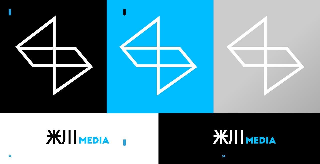 logo design /米川 media图片