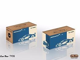 汽车模型包装设计