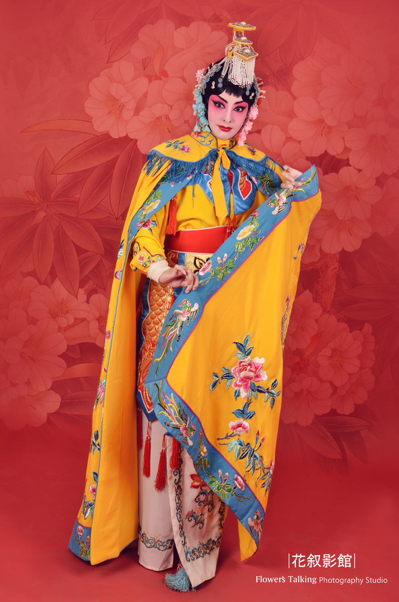 京剧人物造型之虞姬