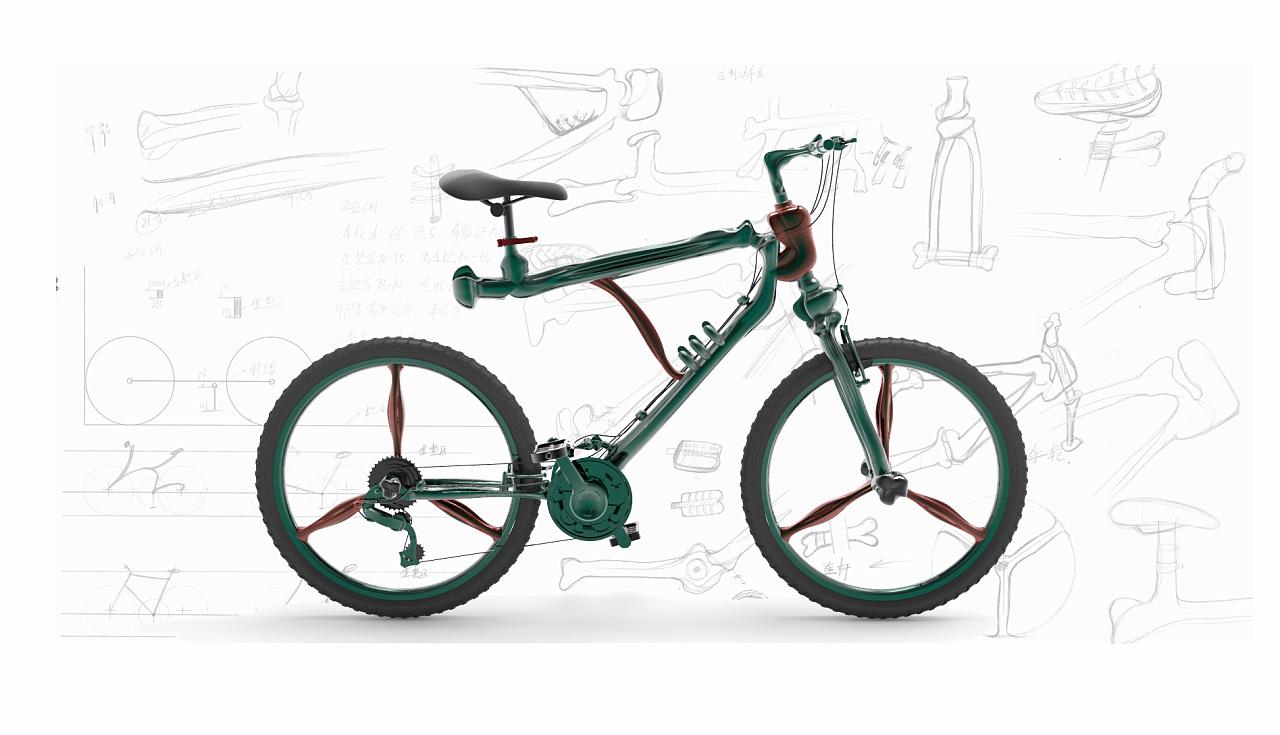 工业设计之自行车设计