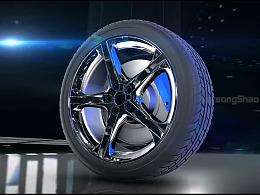 三维轮胎效果展示