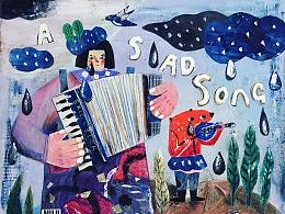 拼贴-A SAD SONG.