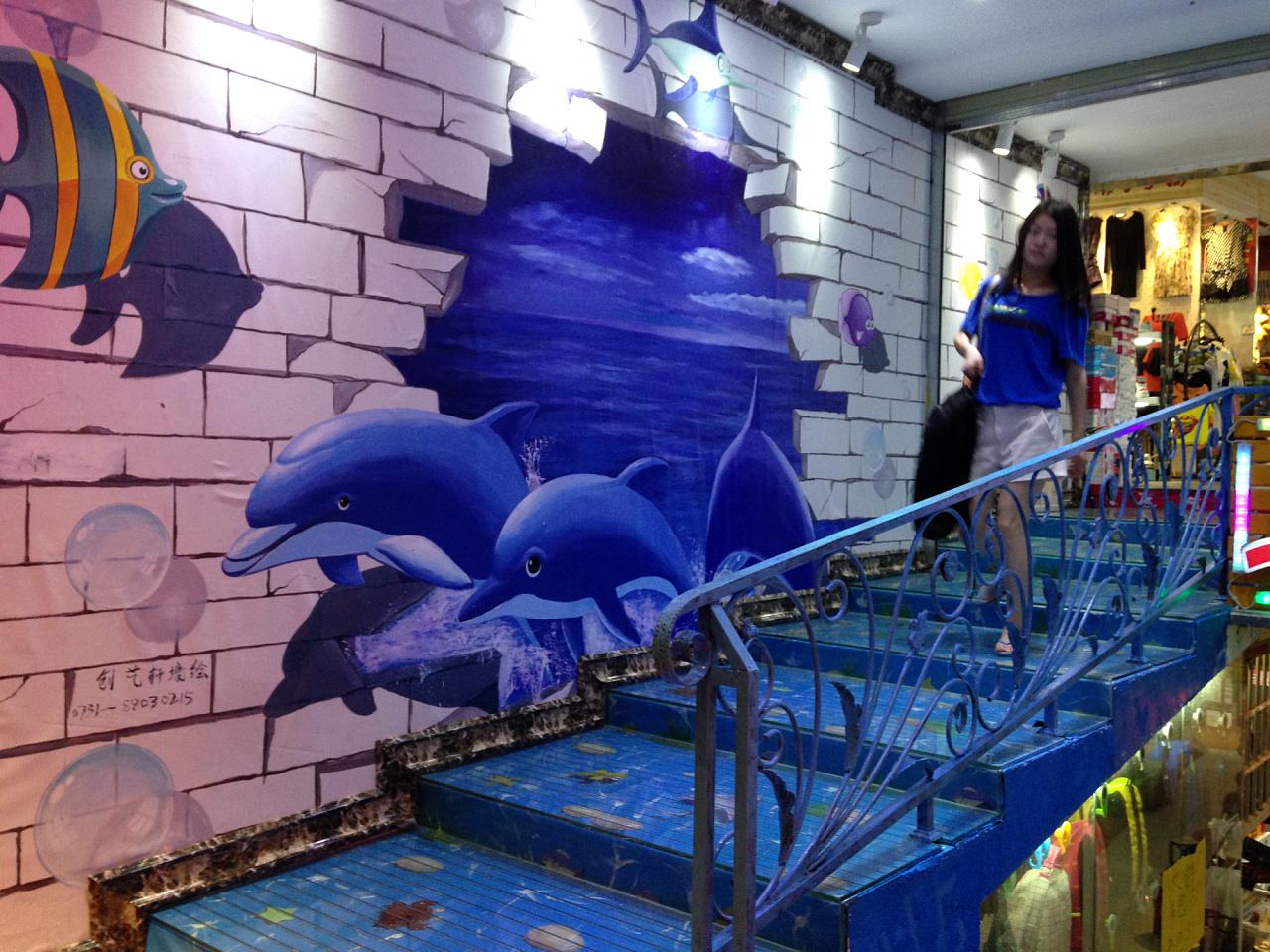 鲨鱼卡通3d