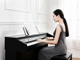卡西欧钢琴修图