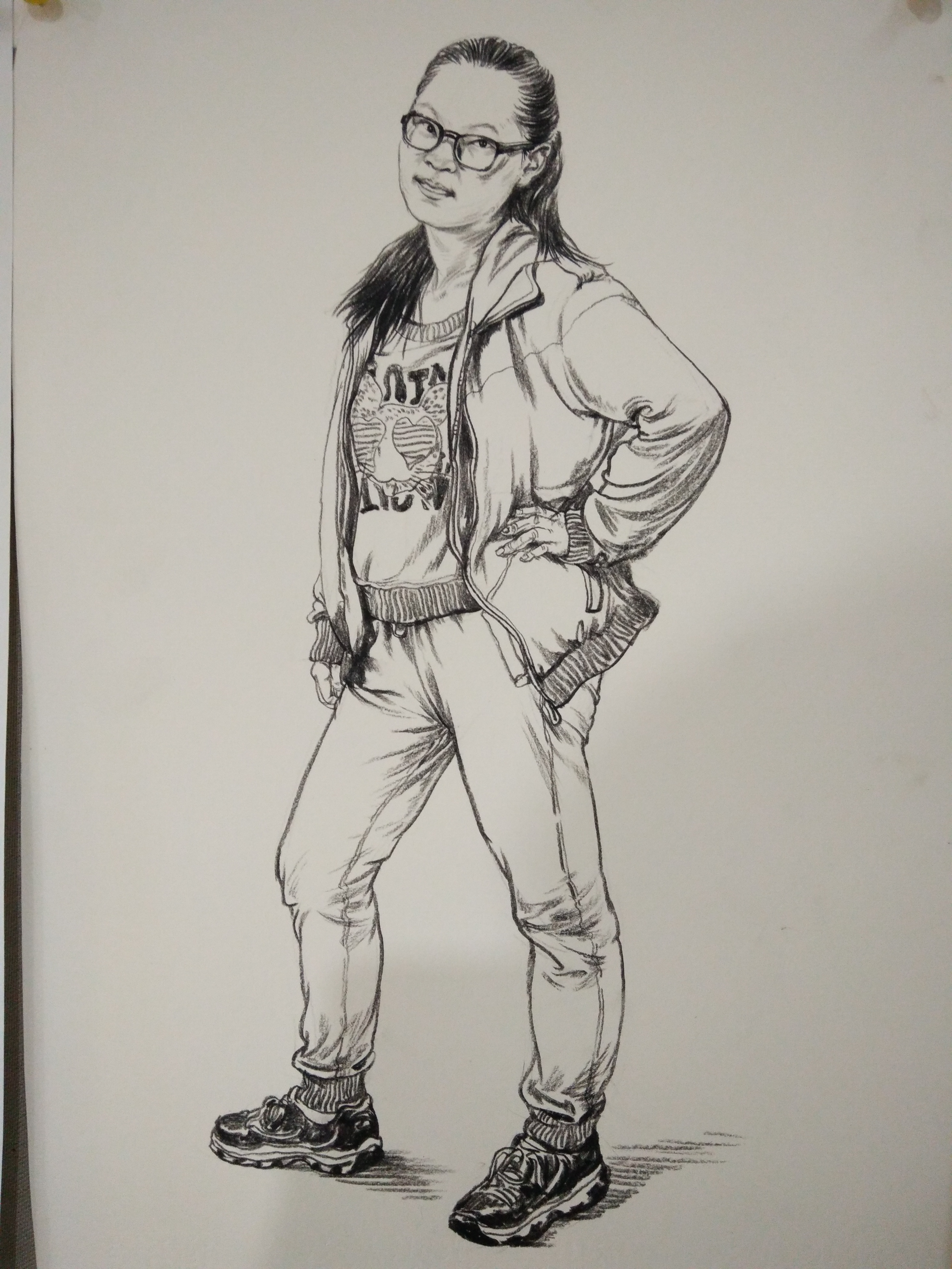 线性速写人物临摹图_怎样画人物速写-怎样画人物速写比例|人物速写步骤过程|怎样画 ...