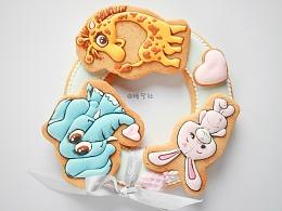 糖艺社糖霜饼干作品