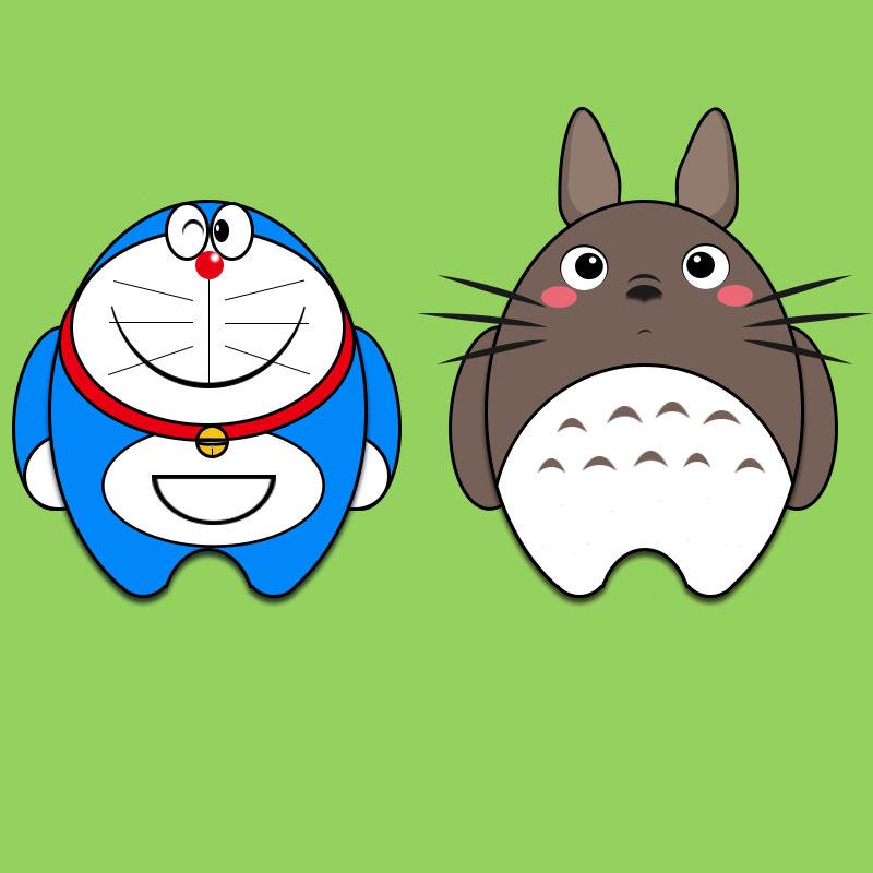 萌萌的卡通人物 ui 其他ui  two兔是只二兔子 - 原创图片